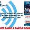 Radio Active OpenDay – Sabato 15 dalle 15 alle 19 – Vieni, ti vogliamo conoscere.